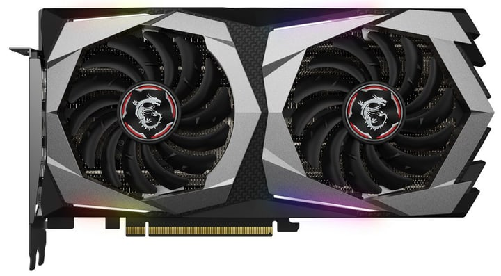 GeForce RTX2060 GAMING Z 6G Card graphique MSI 785300143931 Photo no. 1