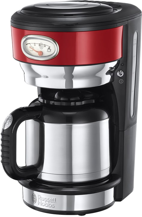 Retro Thermo 21710-56 Rot Cafetière filtre Russel Hobbs 785300137171 N. figura 1