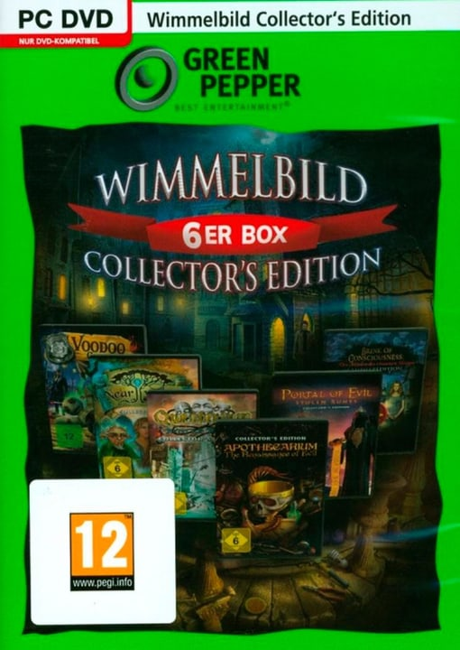 PC - Green Pepper: Wimmelbild 6er Box Collector's Edition (D) Physisch (Box) 785300135817 Bild Nr. 1