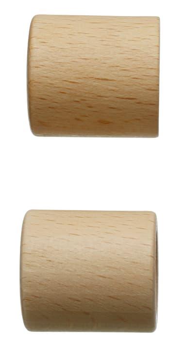 FSC® HOLZ CHEPPI Embout 430563900014 Couleur Marron clair Dimensions L: 30.0 mm x P: 28.0 mm Photo no. 1