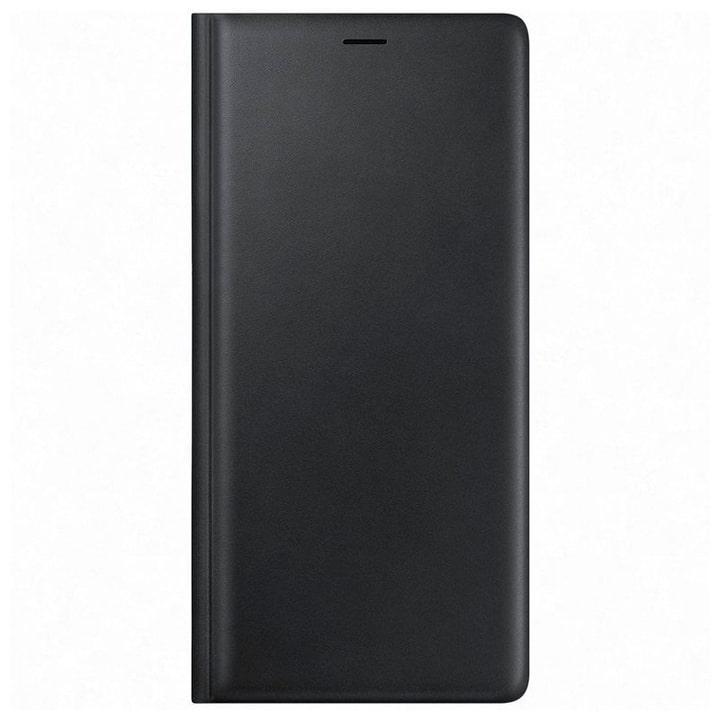 Leather View Cover schwarz Hülle Samsung 785300138248 Bild Nr. 1