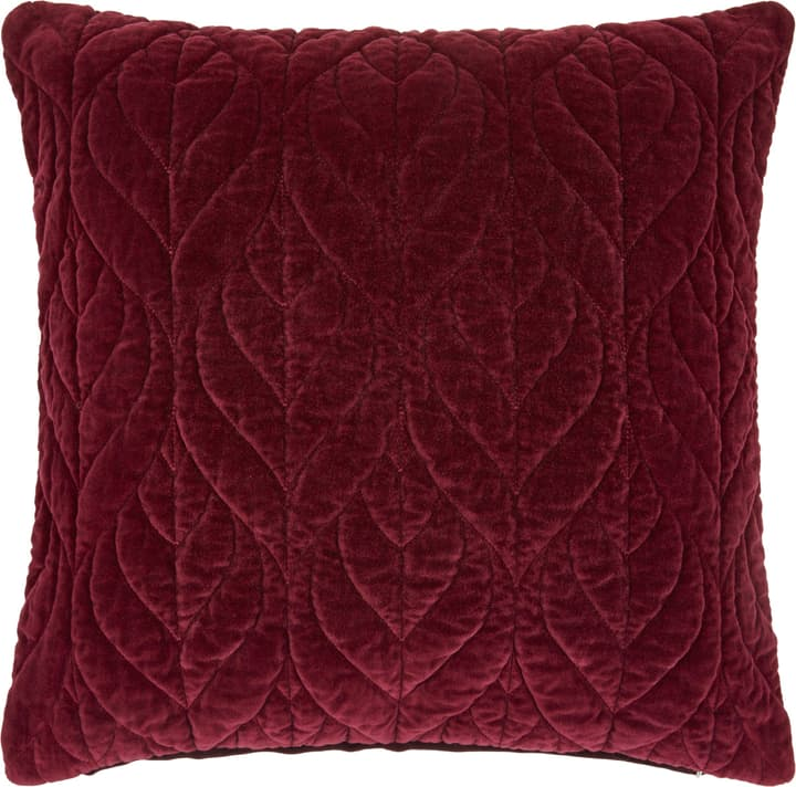 GLORIA Cuscino 450756040833 Colore Rosso scuro Dimensioni L: 45.0 cm x A: 45.0 cm N. figura 1