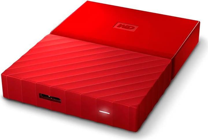 My Passport 1TB Disque externe 2.5'' rouge Disque Dur Externe HDD Western Digital 785300124407 Photo no. 1