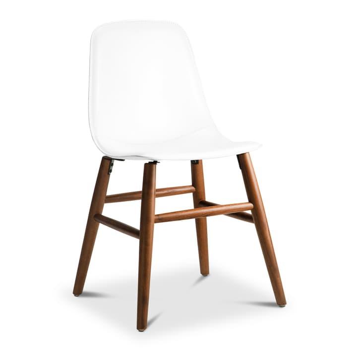 SEDIA Chaise 366186700000 Dimensions L: 45.0 cm x P: 41.0 cm x H: 87.5 cm Couleur Blanc Photo no. 1