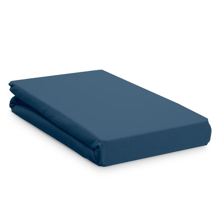 JERSEY Drap-housse 376077431043 Dimensions L: 200.0 cm x L: 90.0 cm Couleur Bleu Photo no. 1