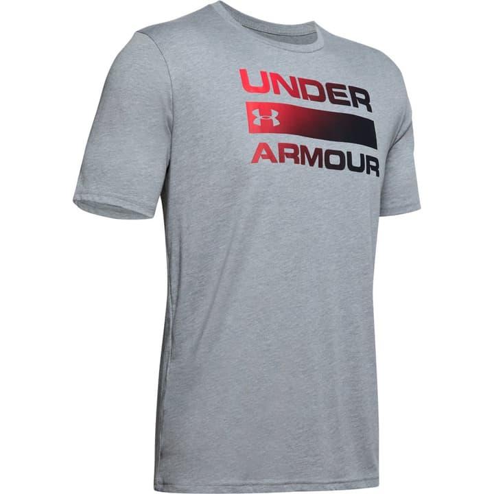Team Issue Wordmark Herren-T-Shirt Under Armour 468003700680 Farbe grau Grösse XL Bild-Nr. 1