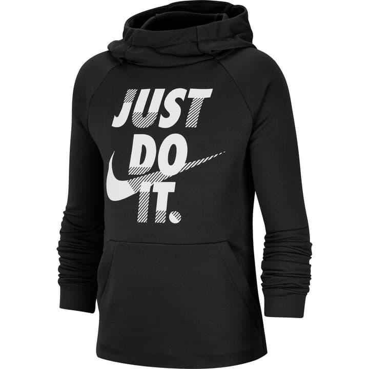 Boys' Training Pullover Hoodie Pull-over à capuche pour garçon Nike 466942514020 Couleur noir Taille 140 Photo no. 1