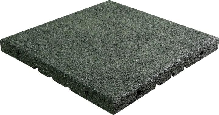 Fallschutzplatte grün 50x50 cm 647053500000 Farbe Grün Grösse B: 50.0 cm x T: 50.0 cm x H: 4.5 cm Bild Nr. 1