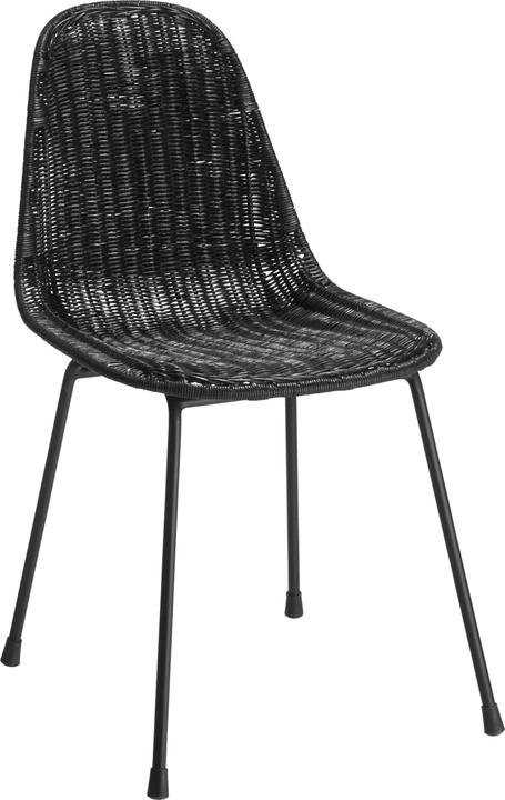 ZENGA Chaise 402354400020 Dimensions L: 47.0 cm x P: 57.0 cm x H: 80.0 cm Couleur Noir Photo no. 1