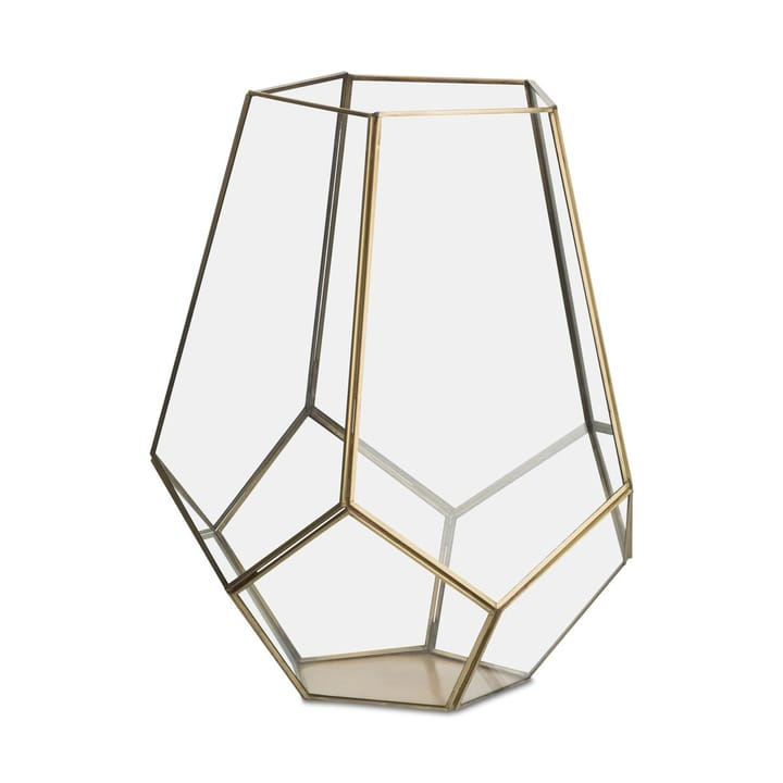 FLORA Laterna 390199200000 Dimensioni L: 29.0 cm x P: 29.0 cm x A: 36.0 cm Colore Color oro N. figura 1
