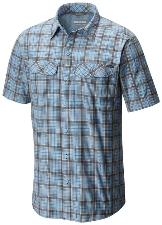 Silver Ridge Multi Plaid Chemise à manches courtes pour homme Columbia 462774200641 Couleur bleu claire Taille XL Photo no. 1