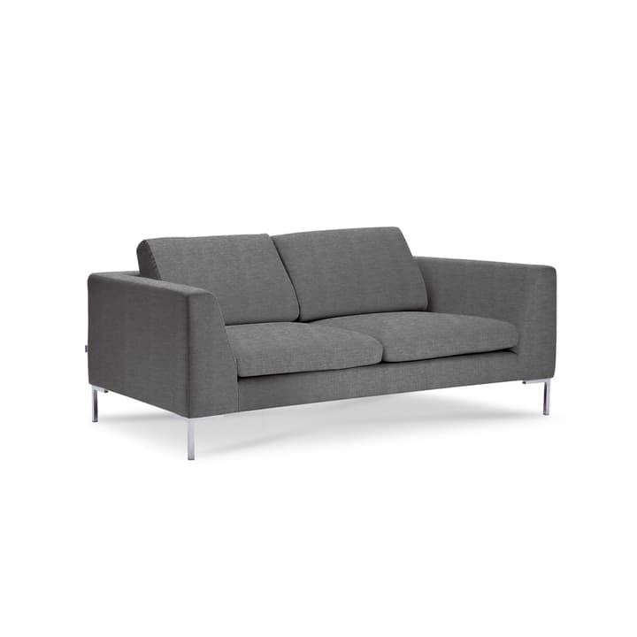 NEWTON Drom canapè à 2 places 360043437103 Dimensions L: 180.0 cm x P: 102.0 cm x H: 80.0 cm Couleur Gris Photo no. 1