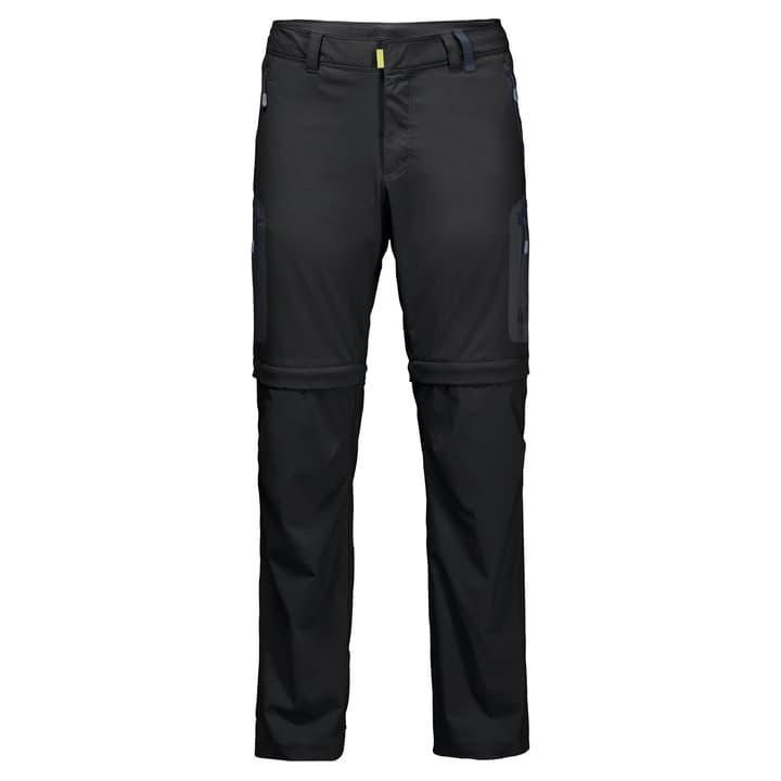 ACTIVATE LIGHT ZIP OFF MEN Pantalon transformable pour homme Jack Wolfskin 462734504620 Couleur noir Taille 46 Photo no. 1