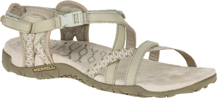 Terran Lattice II Sandales de trekking pour femme Merrell 493439337074 Couleur beige Taille 37 Photo no. 1