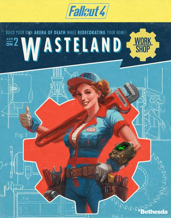PC - Fallout 4 - Wasteland Workshop Download (ESD) 785300133796 N. figura 1