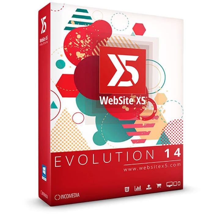 WebSite X5 Evolution 14 PC Numérique (ESD) Avanquest 785300133539 Photo no. 1