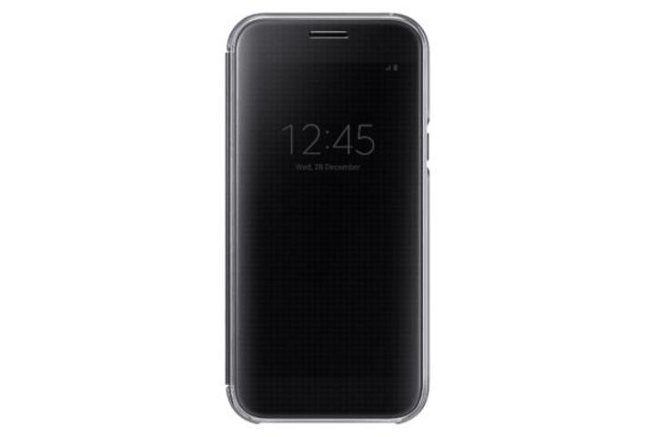 Clear View Cover A5 2017 nero Samsung 798075100000 N. figura 1