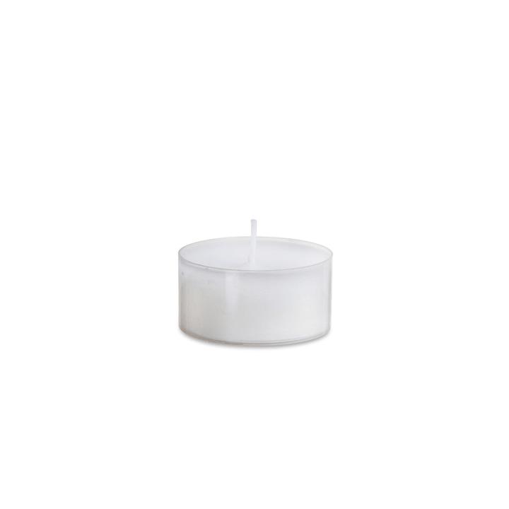 MAXILICHTE Candele scaldavivande 396004900000 Colore Bianco Dimensioni L: 11.0 cm x P: 11.0 cm x A: 3.0 cm N. figura 1