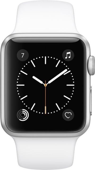 Watch Series.1 38mm argent bracelet Sport blanc Apple 798145100000 N. figura 1