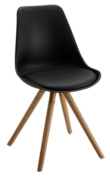 TOTTI Chaise 402347200020 Dimensions L: 48.5 cm x P: 50.5 cm x H: 86.0 cm Couleur Noir Photo no. 1