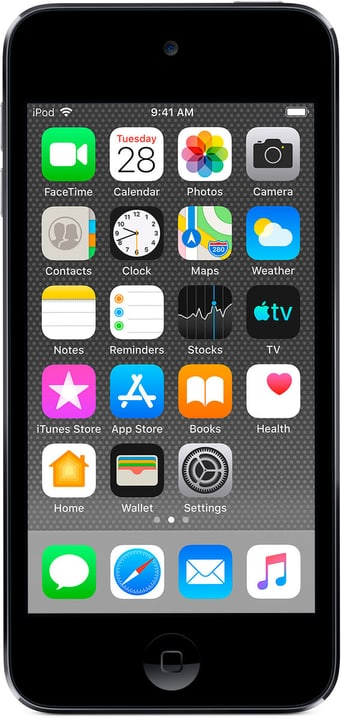 iPod touch 128GB - Space Gray Mediaplayer Apple 773565100000 Couleur Gris sidéral Photo no. 1