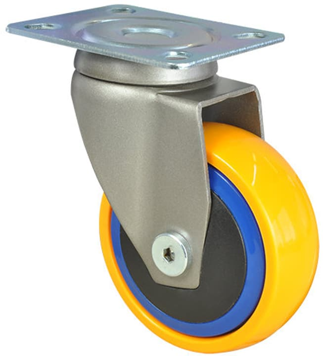 Ruota orientabile 3C soft 50 kg Wagner System 606437100000 N. figura 1