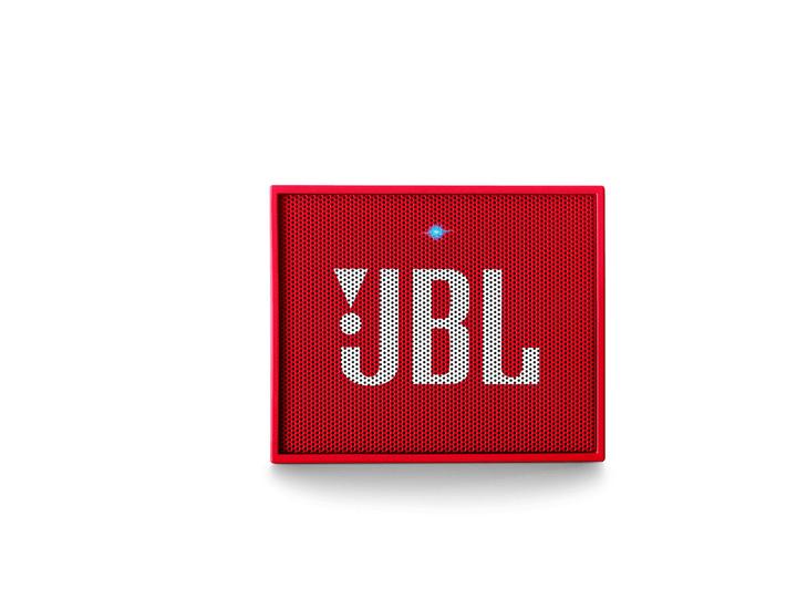 GO - Rouge Haut-parleur Bluetooth JBL 772823400000 Photo no. 1