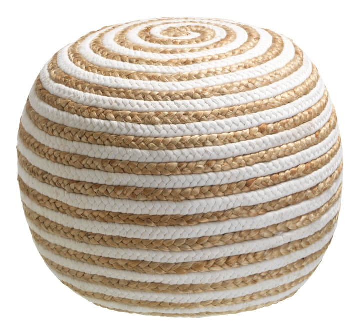 JOUBERT Pouf 407421700010 Couleur Naturel Dimensions H: 35.0 cm Photo no. 1