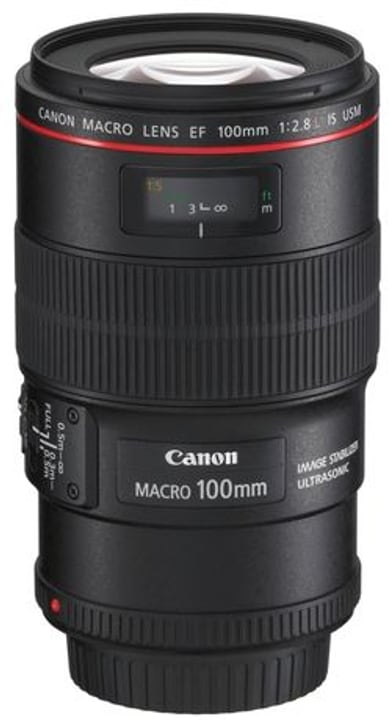 EF 100mm f/2.8L Macro IS USM Objectif Objectif Canon 793374200000 Photo no. 1