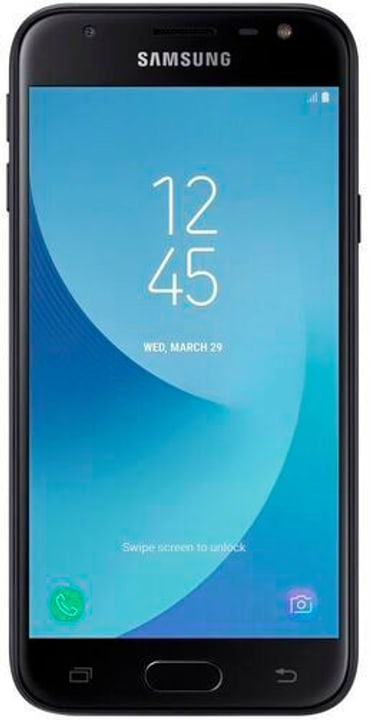 Galaxy J3 (2017) Dual SIM 16GB noir Smartphone Samsung 794622300000 Photo no. 1