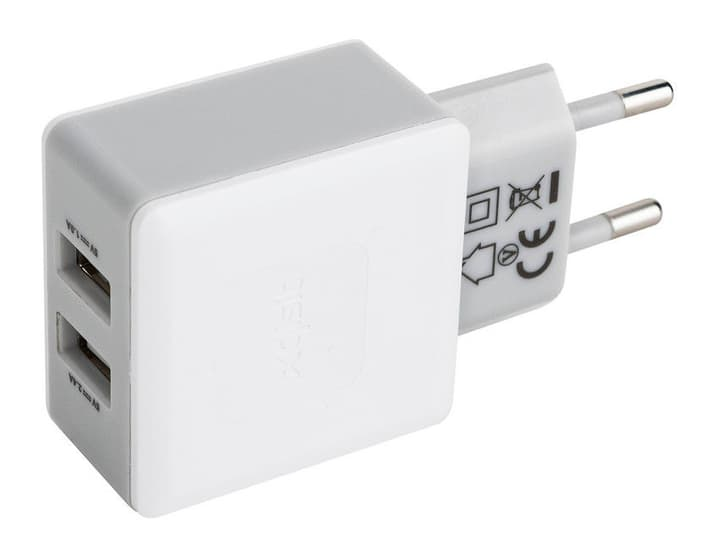Travel Charger 3,4A USB weiss Chargeur XQISIT 798016500000 Photo no. 1