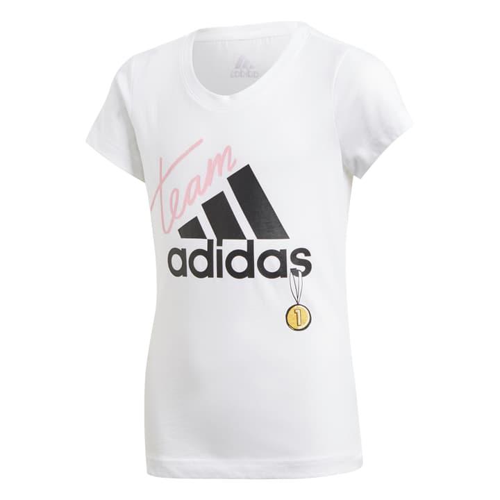 ID Graphic T-Shirt Mädchen-T-Shirt Adidas 464597712810 Farbe weiss Grösse 128 Bild-Nr. 1