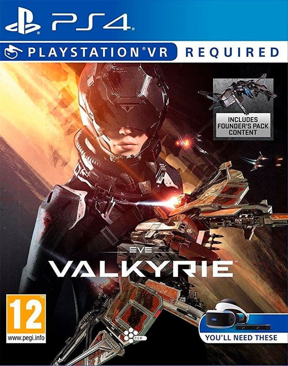 PS4 VR - EVE Valkyrie VR 785300121462 N. figura 1
