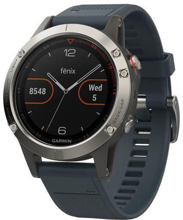 GPS Fenix 5 - Blau/Silber Smartwatch Garmin 785300132743 Bild Nr. 1