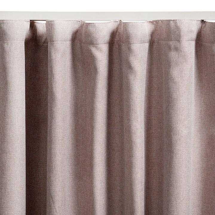 GARNET Rideau prêt à poser blackout 372041100000 Couleur Sable Dimensions L: 140.0 cm x H: 250.0 cm Photo no. 1