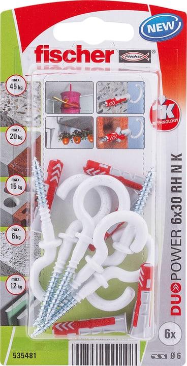 DUOPOWER 6 x 30 avec crochet rond fischer 605440700000 Photo no. 1