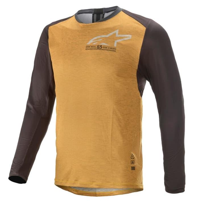 Image of Alpinestars Alps 6.0 Long Sleeve Jersey Herren-Bikeshirt gelb