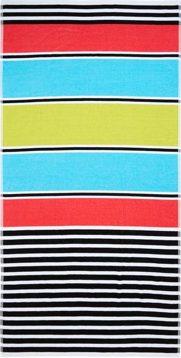 SARAH Asciugamano da spaggia 450867022591 Colore Multicolore Dimensioni L: 90.0 cm x A: 180.0 cm N. figura 1