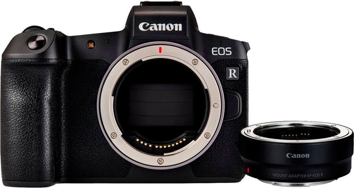 EOS R Body + Adap. EF-EOS R Import fotocamera mirrorless Canon 785300146518 N. figura 1