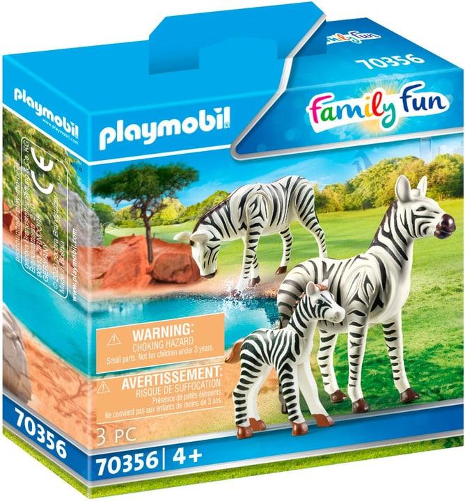 PLAYMOBIL 70356 2 Zebras mit Baby 748031100000 Bild Nr. 1