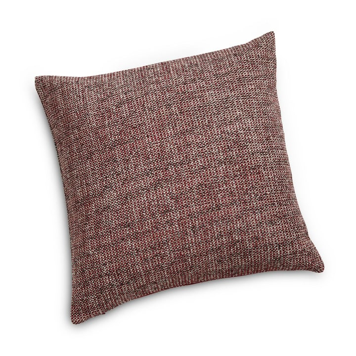 BARRIT Coussin décoratif 378156700000 Couleur Bordeaux Dimensions L: 45.0 cm x H: 45.0 cm Photo no. 1