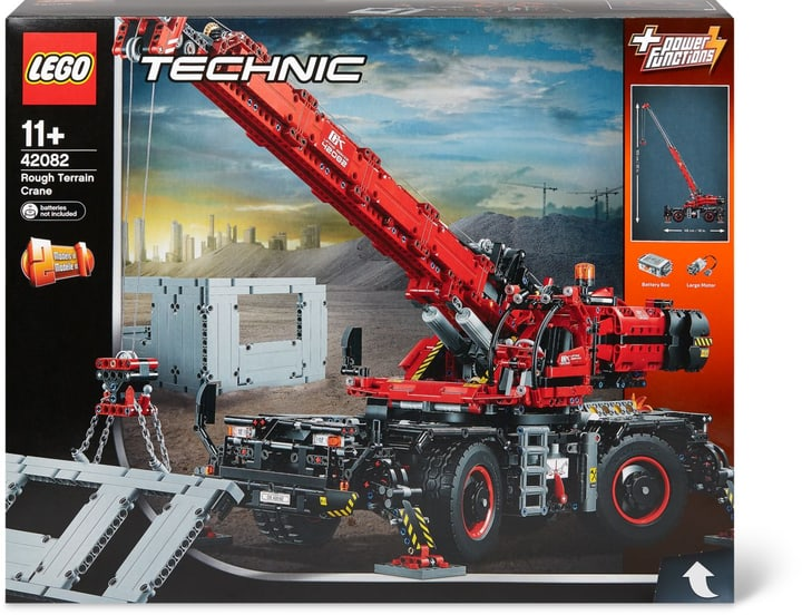 lego technic gel ndeg ngiger kranwagen 42082 kaufen bei. Black Bedroom Furniture Sets. Home Design Ideas