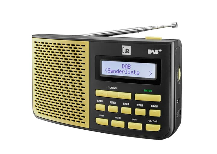 DAB 4.1 GS Radio DAB+/FM jaune Dual 773024000000 Photo no. 1
