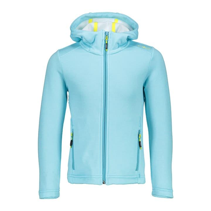 Veste en polaire stretch pour fille CMP 464545412848 Couleur bleu pétrole Taille 128 Photo no. 1