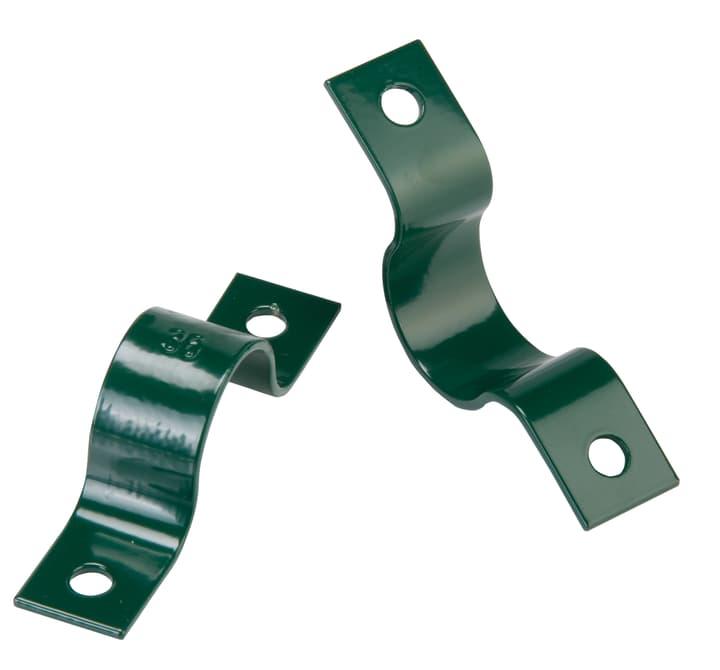 Rohrschelle grün für die Wand, 34mm 636609900000 Bild Nr. 1