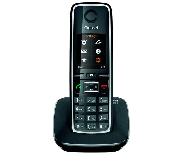 C530 schwarz Festnetz Telefon Gigaset 794058900000 Bild Nr. 1