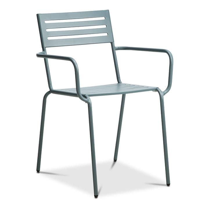 KNOX Chaise 368007735802 Couleur Gris Dimensions L: 55.0 cm x P: 46.0 cm x H: 82.0 cm Photo no. 1