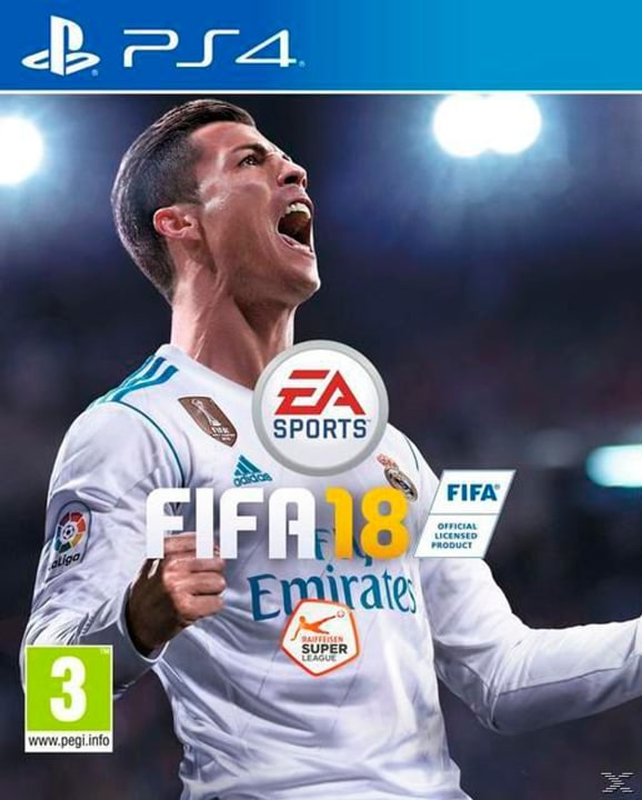 PS4 - FIFA 18 Box 785300122669 Photo no. 1