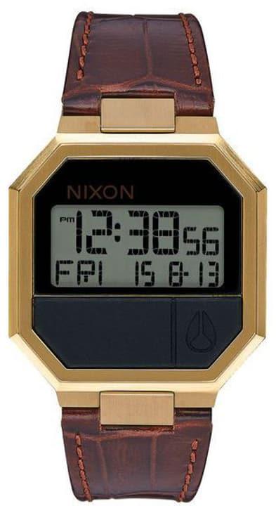 Re-Run Leather Brown Croc 38 mm Montre bracelet Nixon 785300137039 Photo no. 1