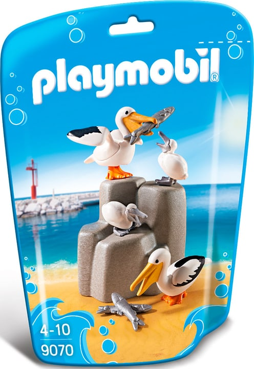 Playmobil Family Fun Famiglia di pellicani 9070 746087700000 N. figura 1
